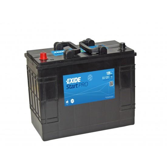EXide StartPro 125Ah CCA 760A