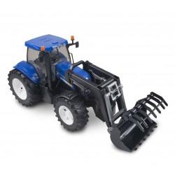 NEW HOLLAND T8040 traktori etukuormaajalla