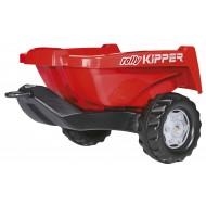 KIPPER II kippiperävaunu, punainen