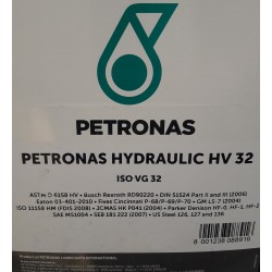 Hydrauliikkaöljy Petronas Hydraulic HV32 208L