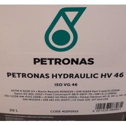 Petronas Hydraulic HV46 Hydrauliikkaöljy 208L