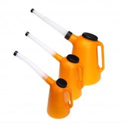 Öljykannusetti oranssi (3kpl)