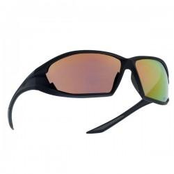 Bollé Tactical Ranger Aurinkolasit, ballistinen suojaus, UVA/B-filtteri, EN166 FT, peilaava, Musta/RedFlash