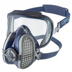 GVS Elipse Integra Hengityssuojain P3 RD NO vaihdettavilla hiukkas- ja kaasusuodattimilla hajunpoisto, Sininen M-L