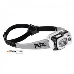 Petzl Swift RL LED Reaktiivinen otsavalaisin akulla 150m/50h, Musta/Harmaa 900lm