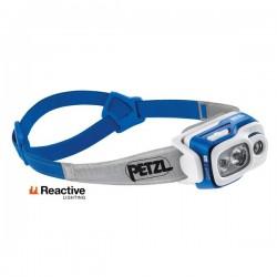 Petzl Swift RL LED Reaktiivinen otsavalaisin akulla 150m/50h, Sininen/Harmaa 900lm